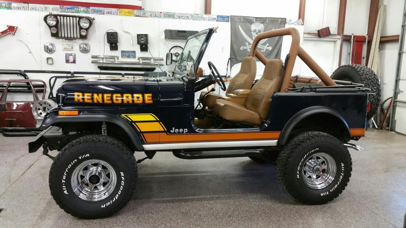 Classic Jeeps For Sale >> Rudy S Classic Jeeps Llc 84 Jeep Cj7 Renegade From