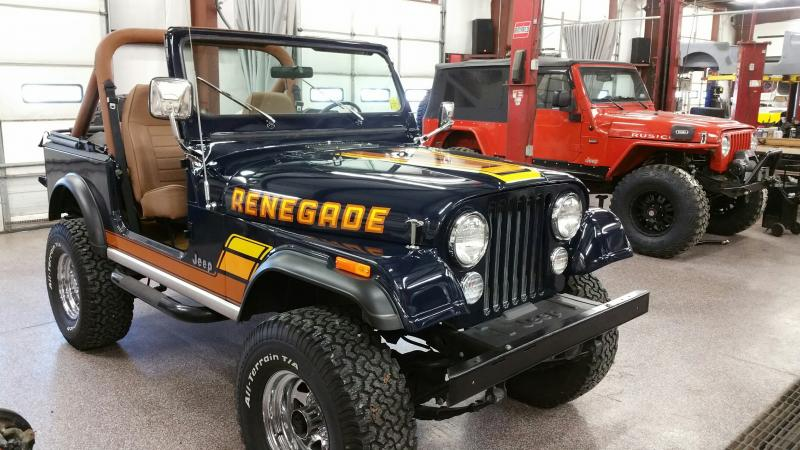 Rudy's Clic Jeeps LLC - 84 Jeep CJ7 Renegade from showroom of ...