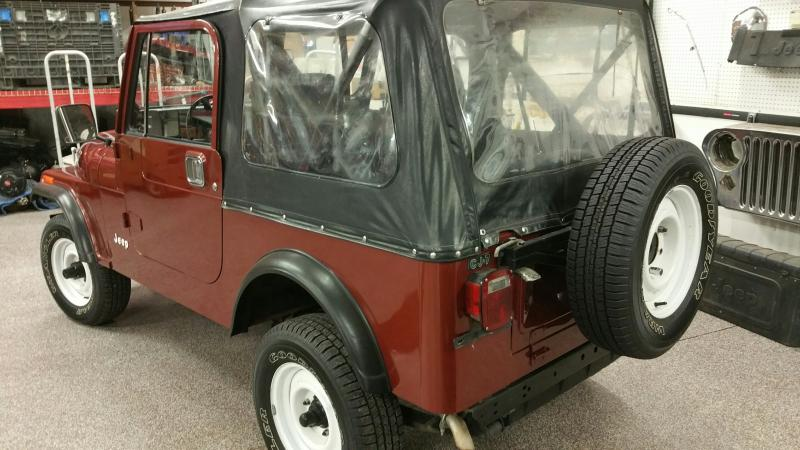 Rudy's Classic Jeeps LLC - 1985 Jeep CJ7 w only 12k ...