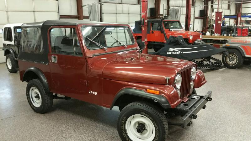 Jeeps For Sale In Ga >> Rudy's Classic Jeeps LLC - 1985 Jeep CJ7 w only 12k ...