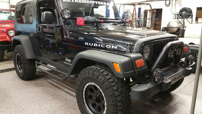 rudy 39 s classic jeeps llc rare 2005 jeep wrangler lj unlimited rubicon one owner 17 500 w soft. Black Bedroom Furniture Sets. Home Design Ideas